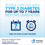 Get checked for Diabetes Type 2 | Diabetes Australia